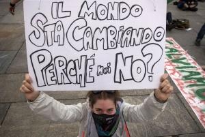 """ITALIA  """" Greta Thunberg, Friday for future""""   © Paolo Siccardi"""