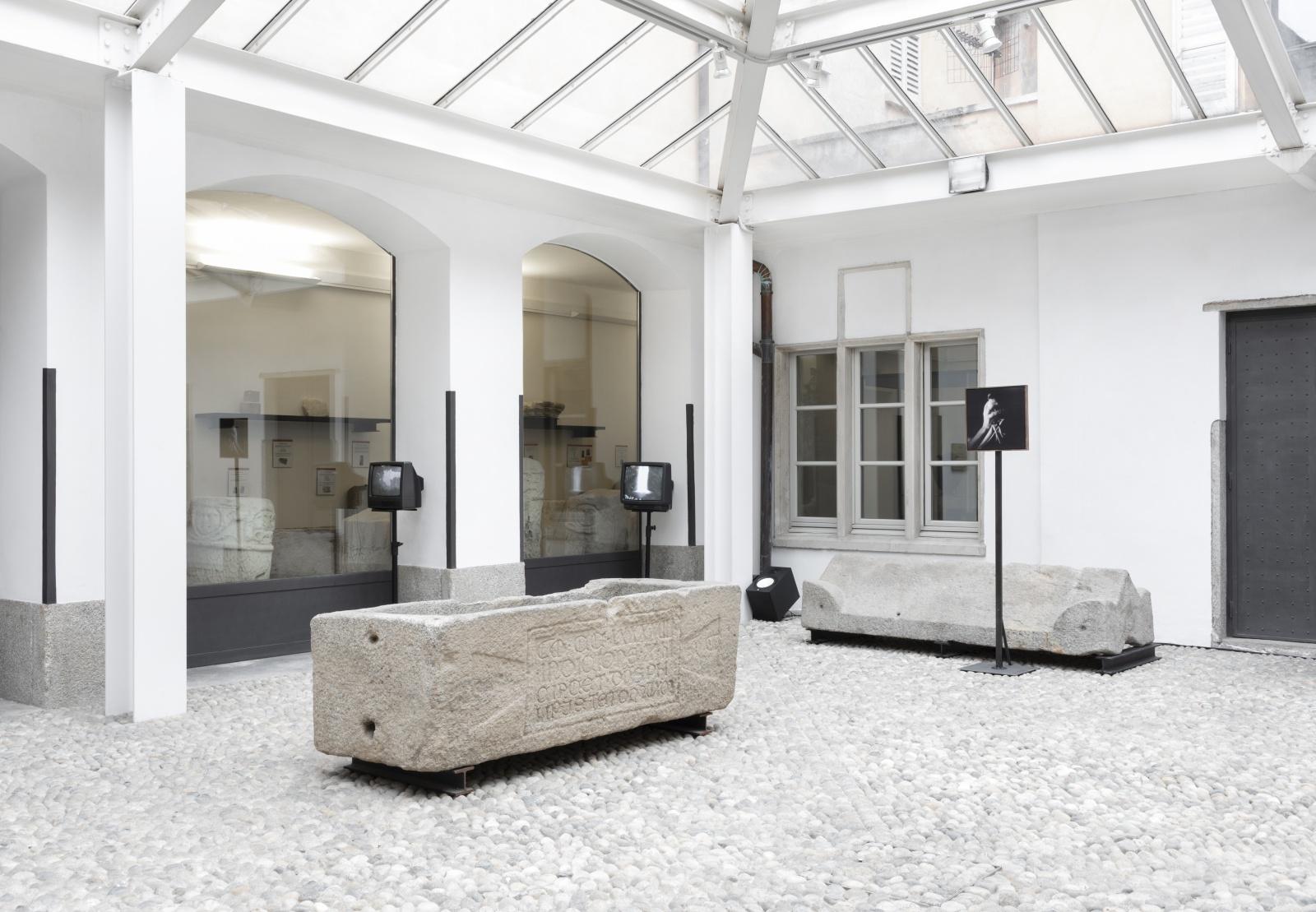 Cerchio di perpetua occultazione - Personal Exhibition at Museo Civico di Villa Mirabello, Varese - 2021