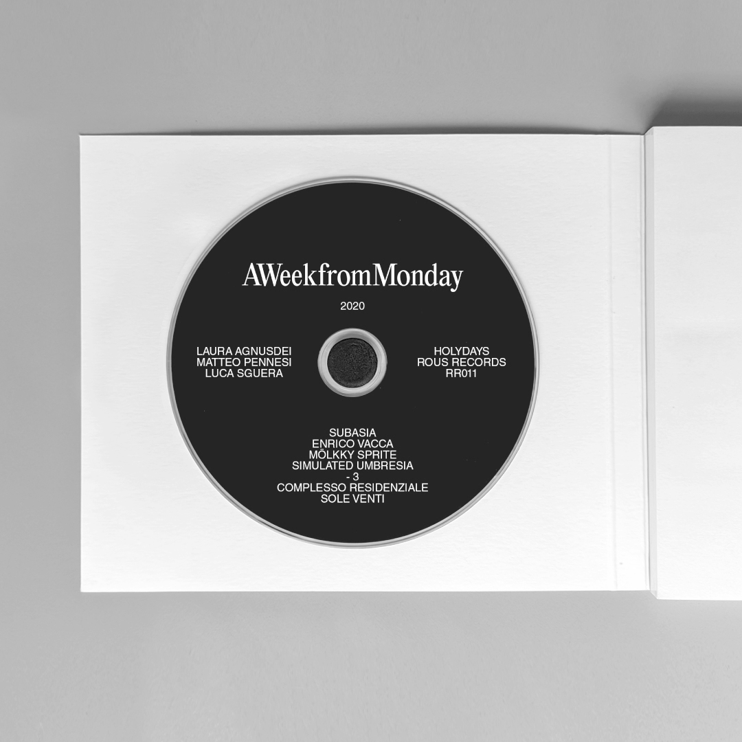 A Week From Monday - Holydays. Ed. VIAINDUSTRIAE, 2020.