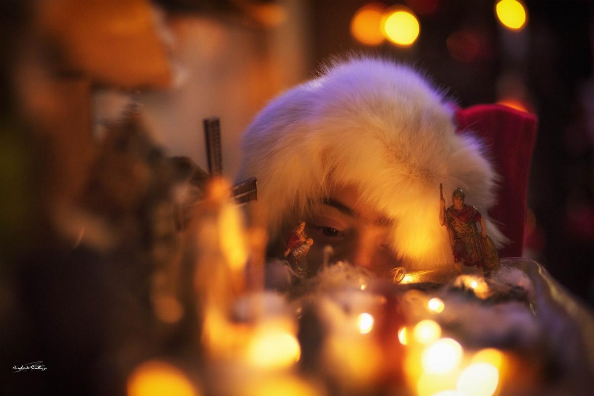 """""""L'albero di Natale è bello solo quando è finito e quando si possono accendere le luci, il presepe invece no, il presepe è bello quando lo fai o addirittura quando lo pensi"""" - Luciano De Crescenzo"""