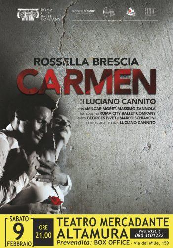 Carmen di Luciano Cannito con Rossella Brescia e Amilcar Moret Gonzales