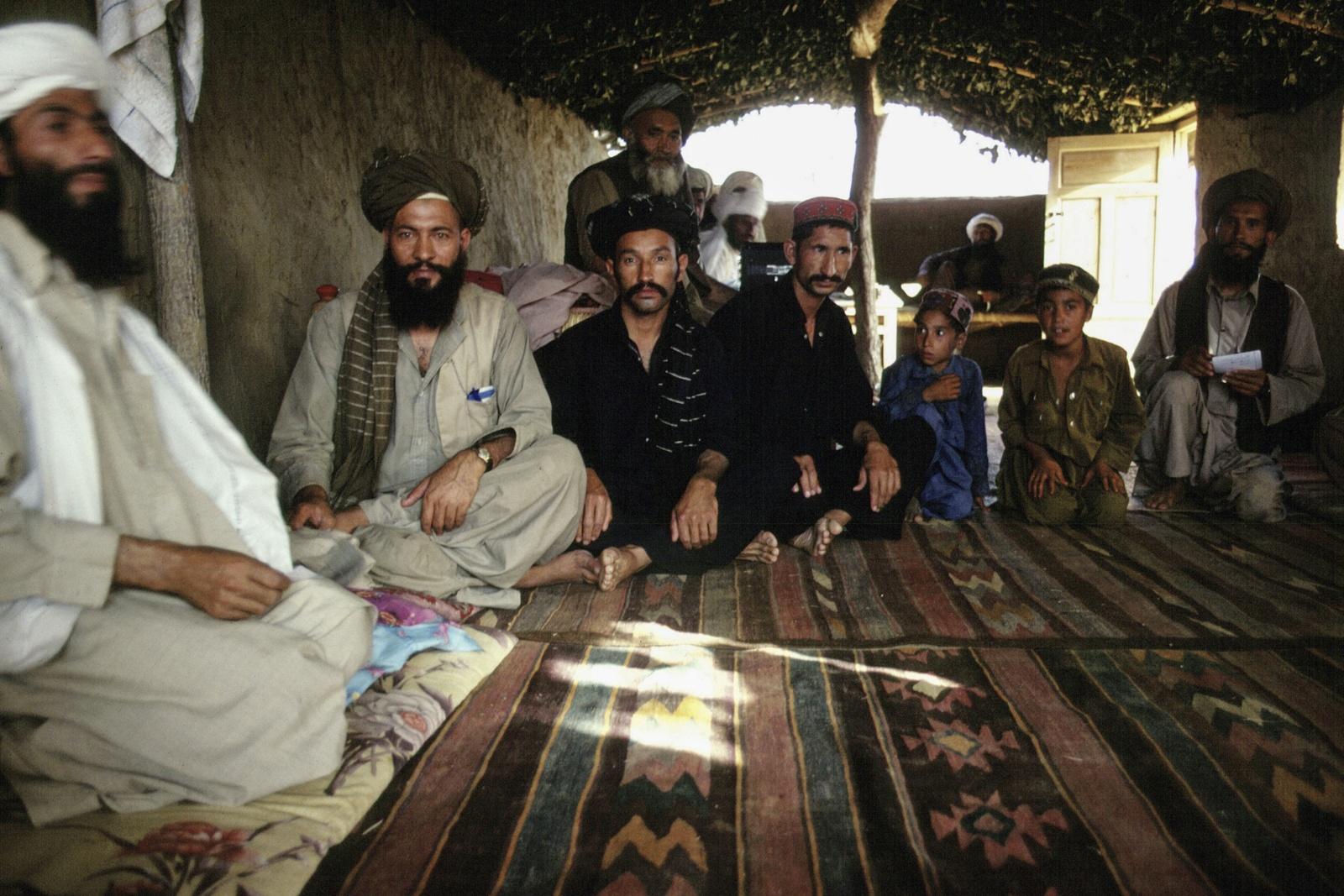 Afghanistan. Campo profugo di Mujahideen