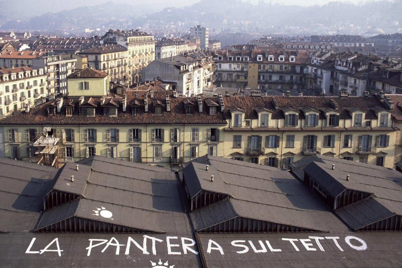 Occupazione delle facoltà umanistiche a Torino per contestare la Riforma Ruberti del 1990