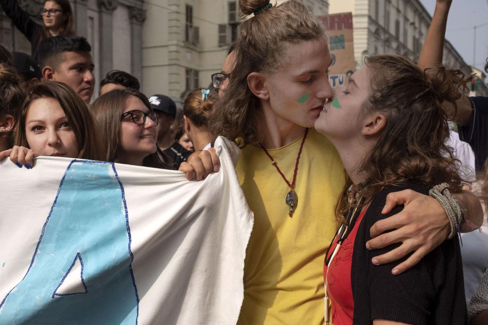 """Manifestazione nazionale a Torino del movimento """"Friday For Future"""""""