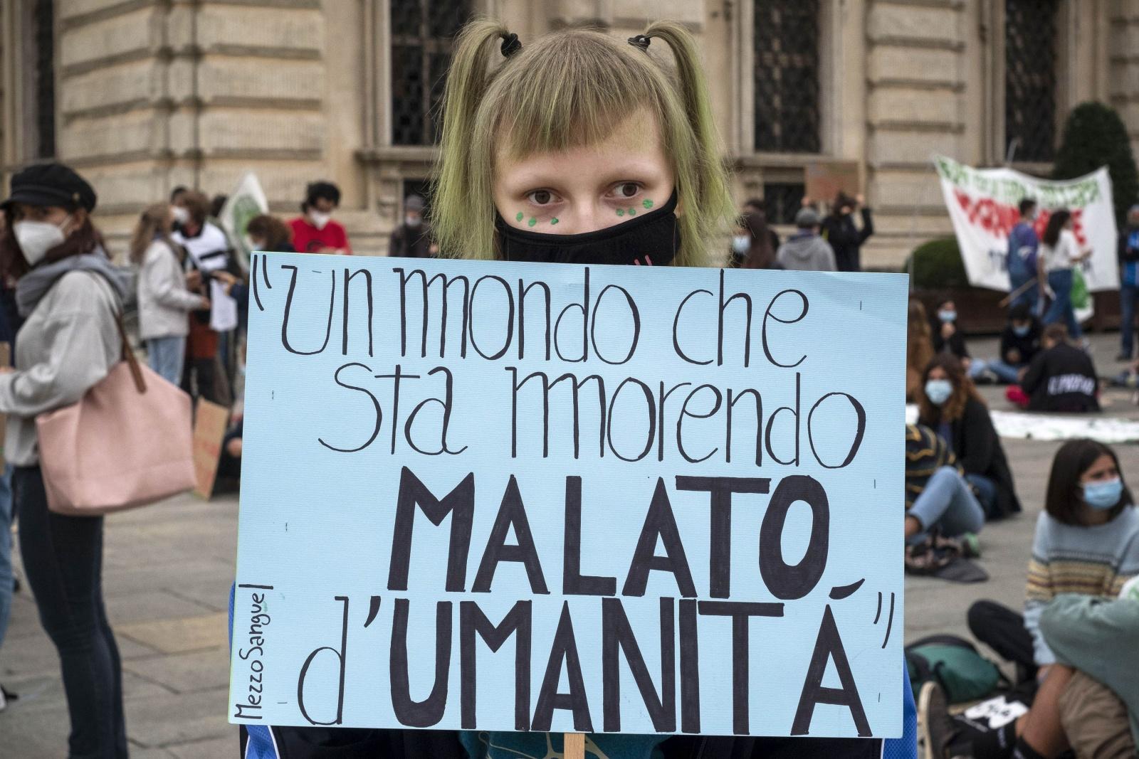 """09-10-2020 Movimento """"Friday For Future"""" di Torino"""