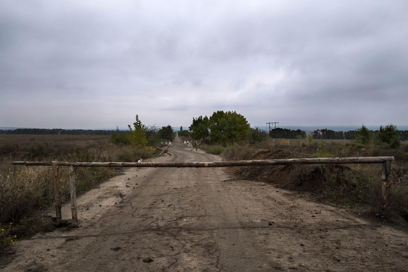 Ucraina - Donbass verso la pianura di Debaltseve