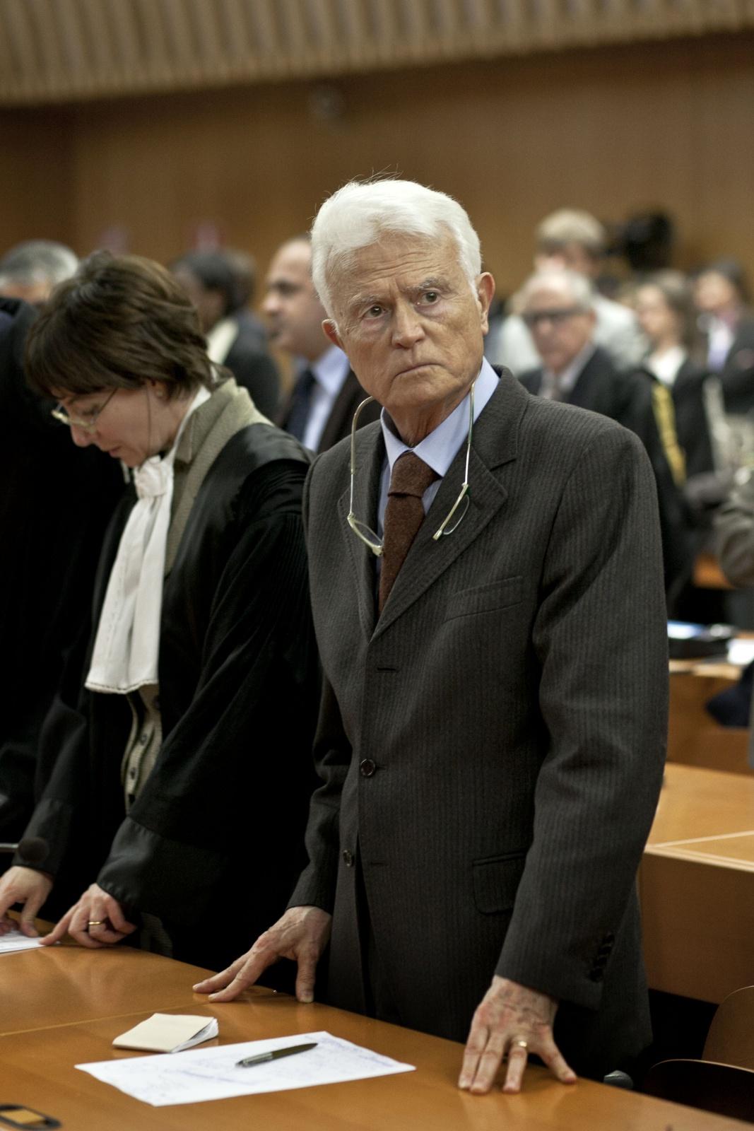 13/02/2012 Torino, Palagiustizia Bruno Caccia,  sentenza processo ETERNIT - il Procuratore capo Gian Carlo Caselli