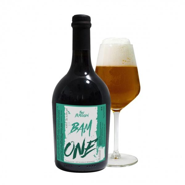 ONE First Explosion - Formati disponibili Bottiglia da 0.33 cl Bottiglia da 0.75 cl Fusto