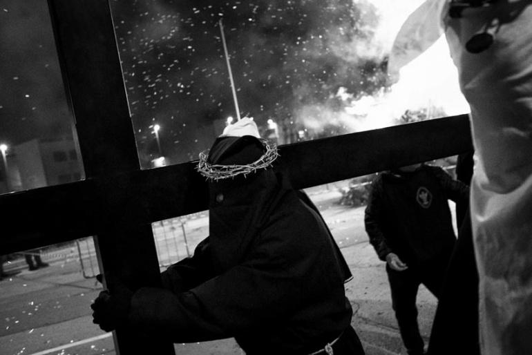 Noicattaro (BA) - Processione dei Crociferi, La prima Croce.
